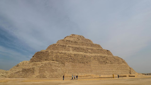 Egypt oldest pyramid Djoser reopens 14-year restoration