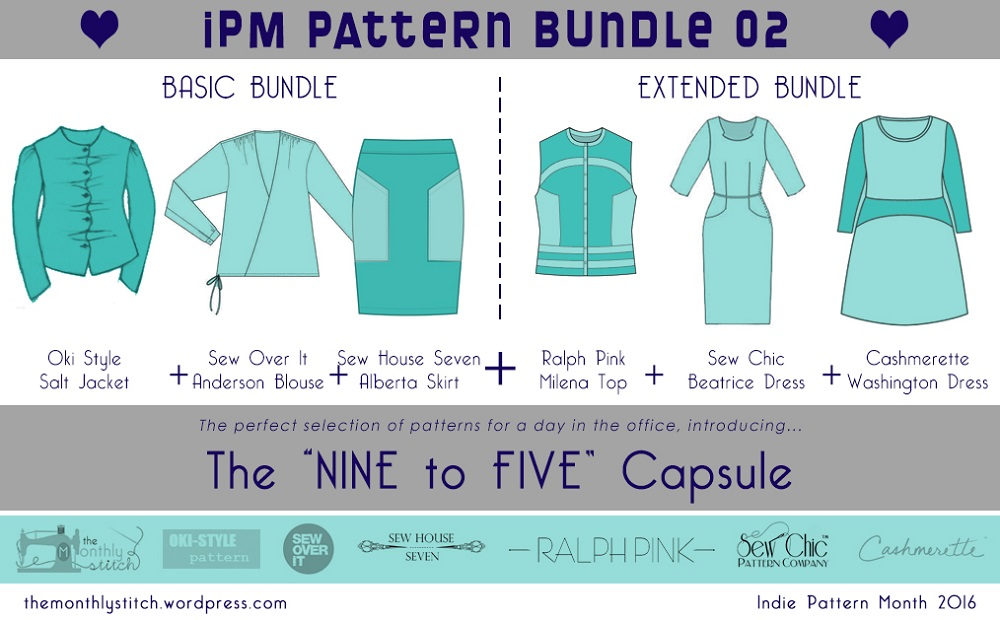 June is Indie Pattern Month and The Monthly Stitch is having a Indie ...