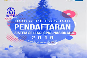Buku Petunjuk Pendaftaran Seleksi CPNS Nasional Resmi Dari BKN Tahun 2019