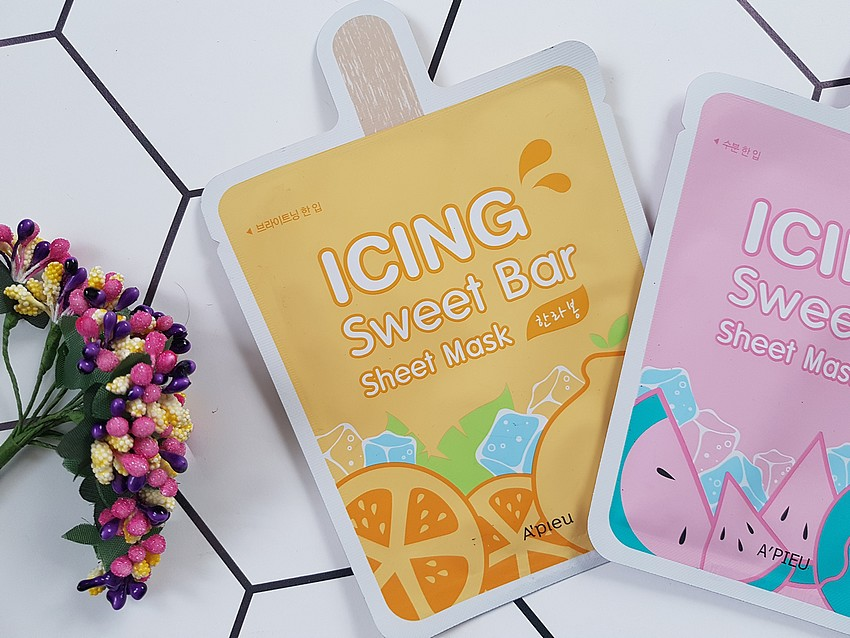 A'PIEU ICING SWEET BAR SHEET MASK mandarynka