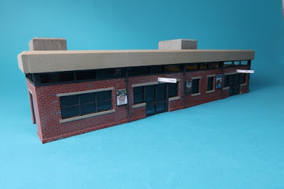 Peco office to station building conversion