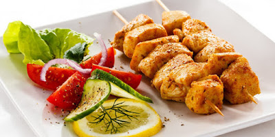 Here is a wonderful variation on shish kebab Shish Taouk / Chicken Kebabs Recipe