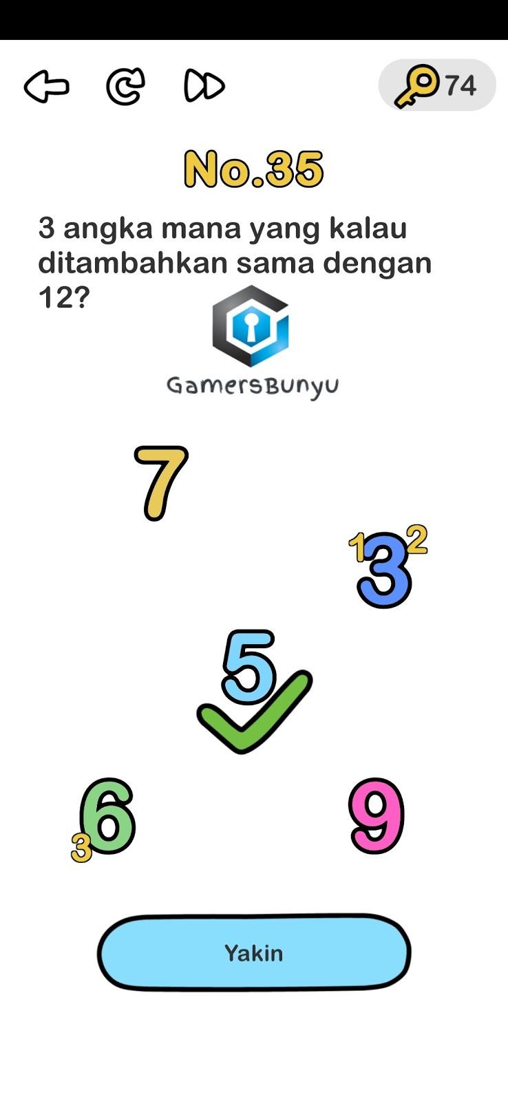 Jawaban Brain Out Level 31 32 33 34 35 36 37 38 39 40 Gamers Bunyu