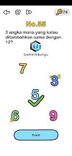 Jawaban Brain Out 35 : jawaban, brain, Jawaban, Brain, Level, Gamers, Bunyu