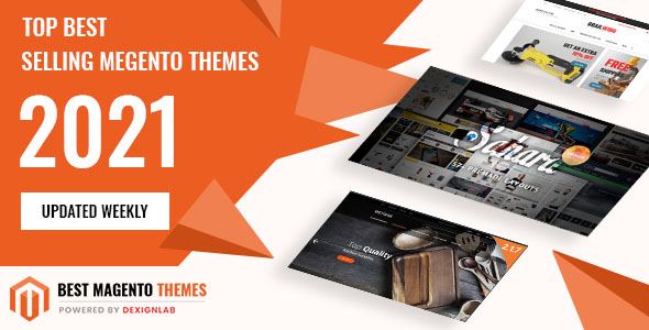 Top Rated Best Selling MegentoTemplate 2021 - Updated Weekly