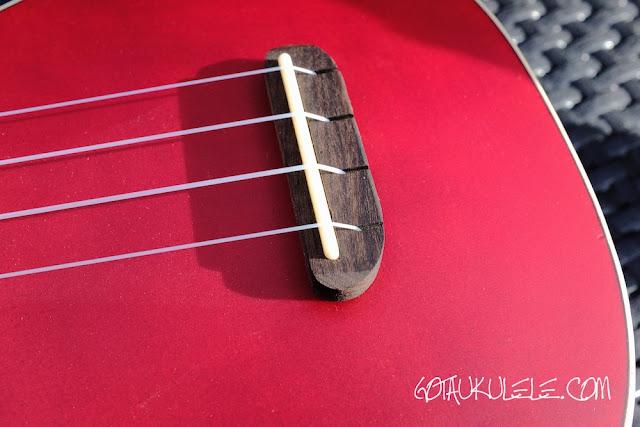 Fender Venice Sopano Ukulele bridge