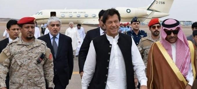 Imran Khan, Prime Minister, flew to Saudi Arabia