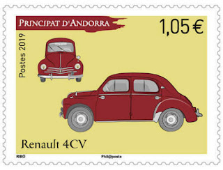 andorra 2019 andorre Classic Cars - Renault 4CV