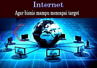 Internet - Perannya untuk mengembangkan bisnis
