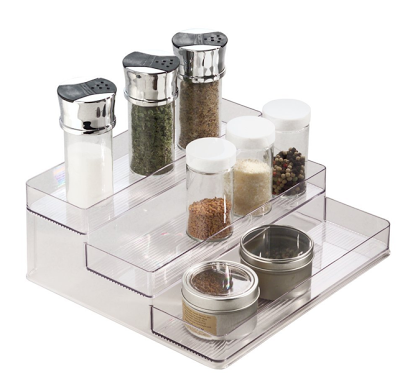step  / tiered spice rack