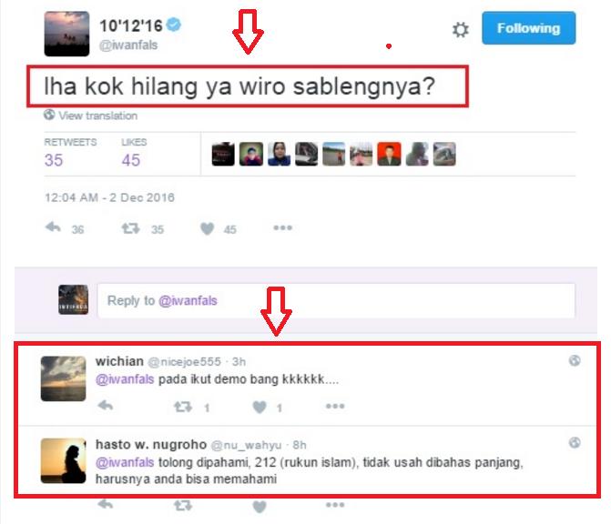 Wah !..Haji Iwan Fals Kok Ledek Aksi Bela Islam 212 ?