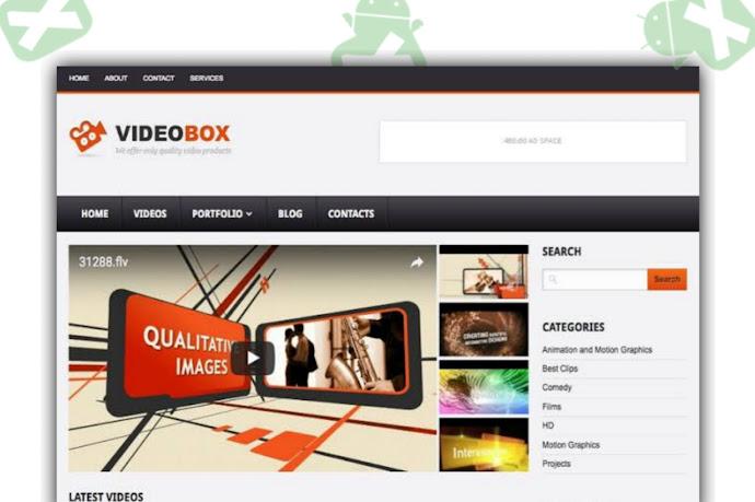 VideoBox Blogger Template Download [Free]