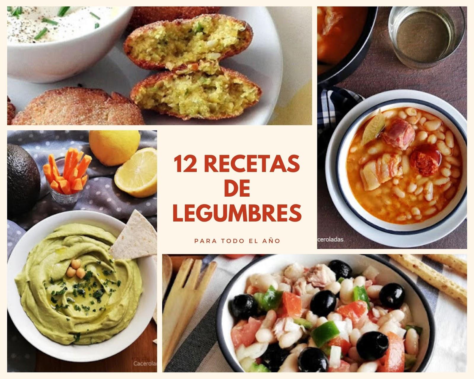 12 recetas de legumbres