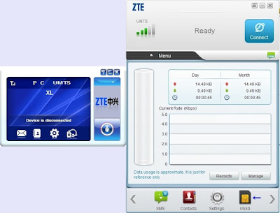 Cara Upgrade Driver Modem ZTE MF 190