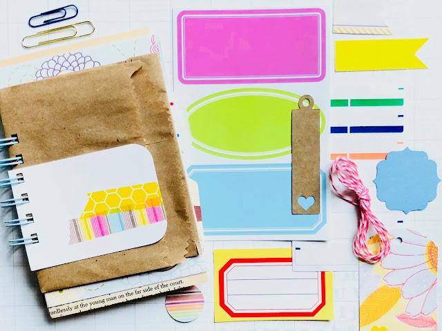 #junk journal #mini book #summer book #mixed paper journal #I Love It All #iloveitallshop #paper ephemera