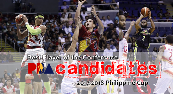 Top 10 Leading Candidates for the BPC candidates 2017-2018 Philippine Cup