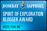 Bombay Sapphire Spirit of Exploration Blogger Award