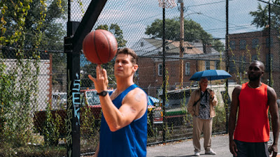 Sports Inspirational Drama Basketball Street Streetball Brooklyn Jackie Ryan Blackjack Sports Sport competition dreams pain