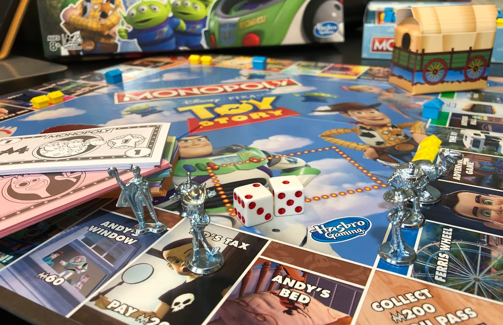 b2b95c0cbc8 Toy Story Monopoly Board Game Unboxing - Watch Out For Sid or Benson  (Covers Toy