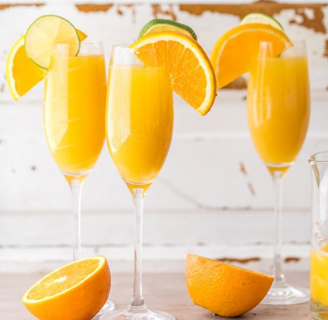 Moscow Mule Mimosas #drink #cocktail