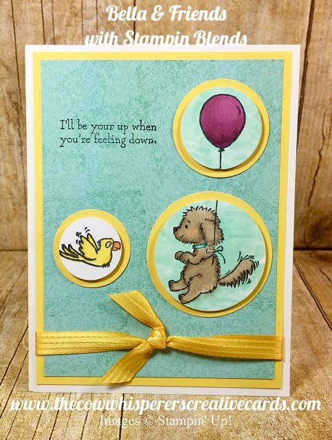 Card, Bella & Friends, Stampin Blends, Stampin UP