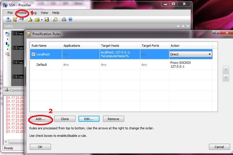 Tutorial dan Cara Setting Bitvise dengan Proxifier Lengkap ...