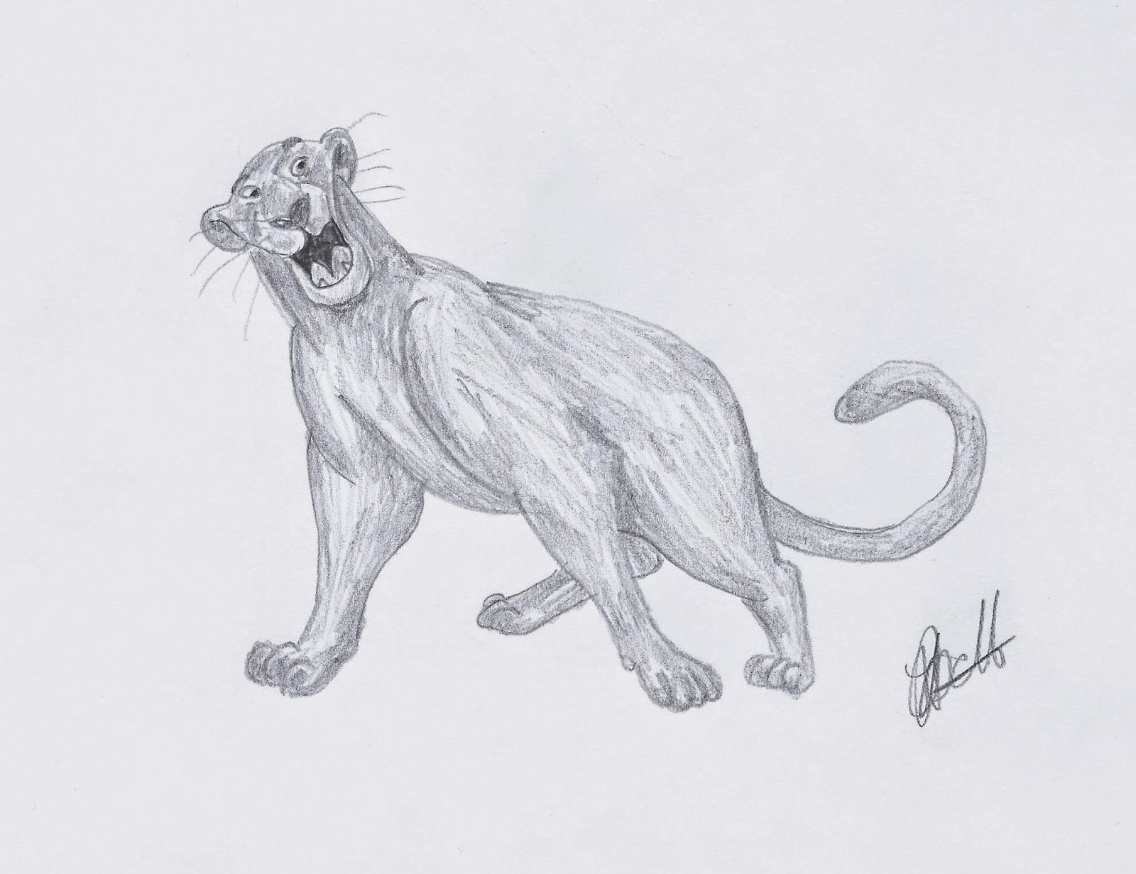 Disney Study: The Jungle Book. Bagheera #Disney