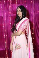 Adaa Sharma in White Pink Saree at Zee Telugu Apsara Awards 2017 32.JPG