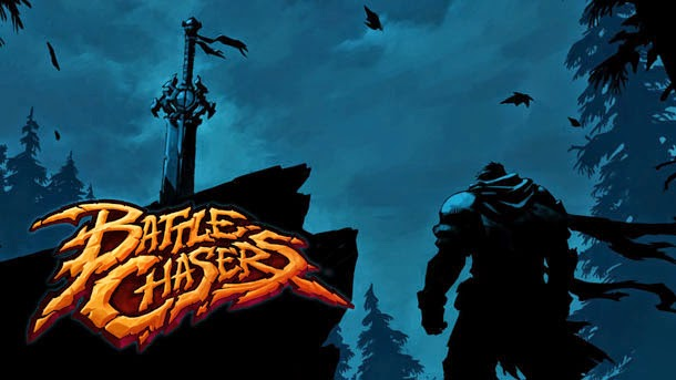BATTLE CHASERS: Nightwar diseños de Joe Madureira