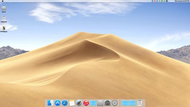 Hướng dẫn cài giao diện MAC OS lên Windows 10