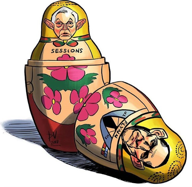 Jeff Sessions Meme Russian nesting doll Matryoshka doll