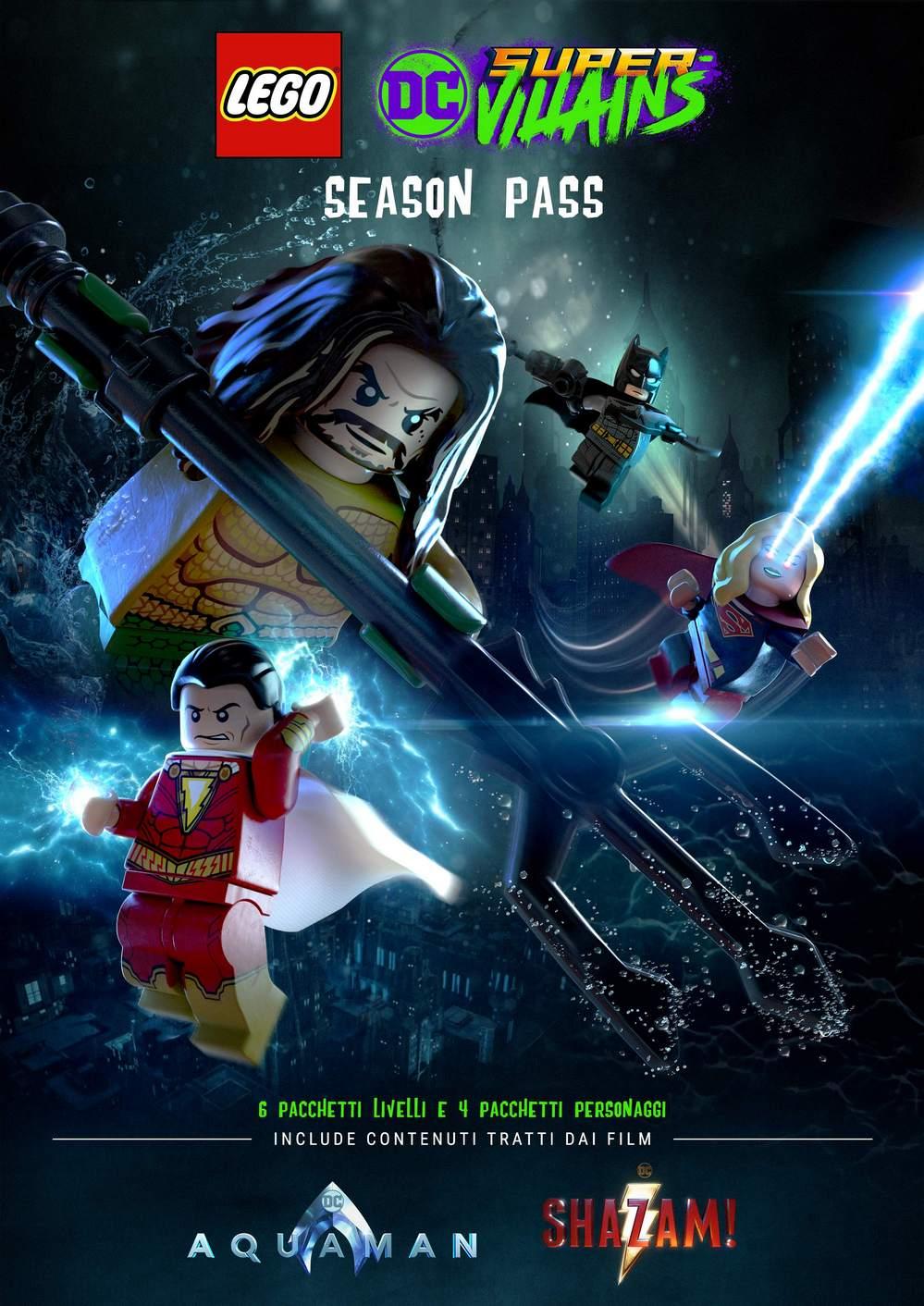 ◈ 1 LINK ISO ◈』➽ LEGO DC SUPER-VILLAINS SHAZAM (ALL DLCS