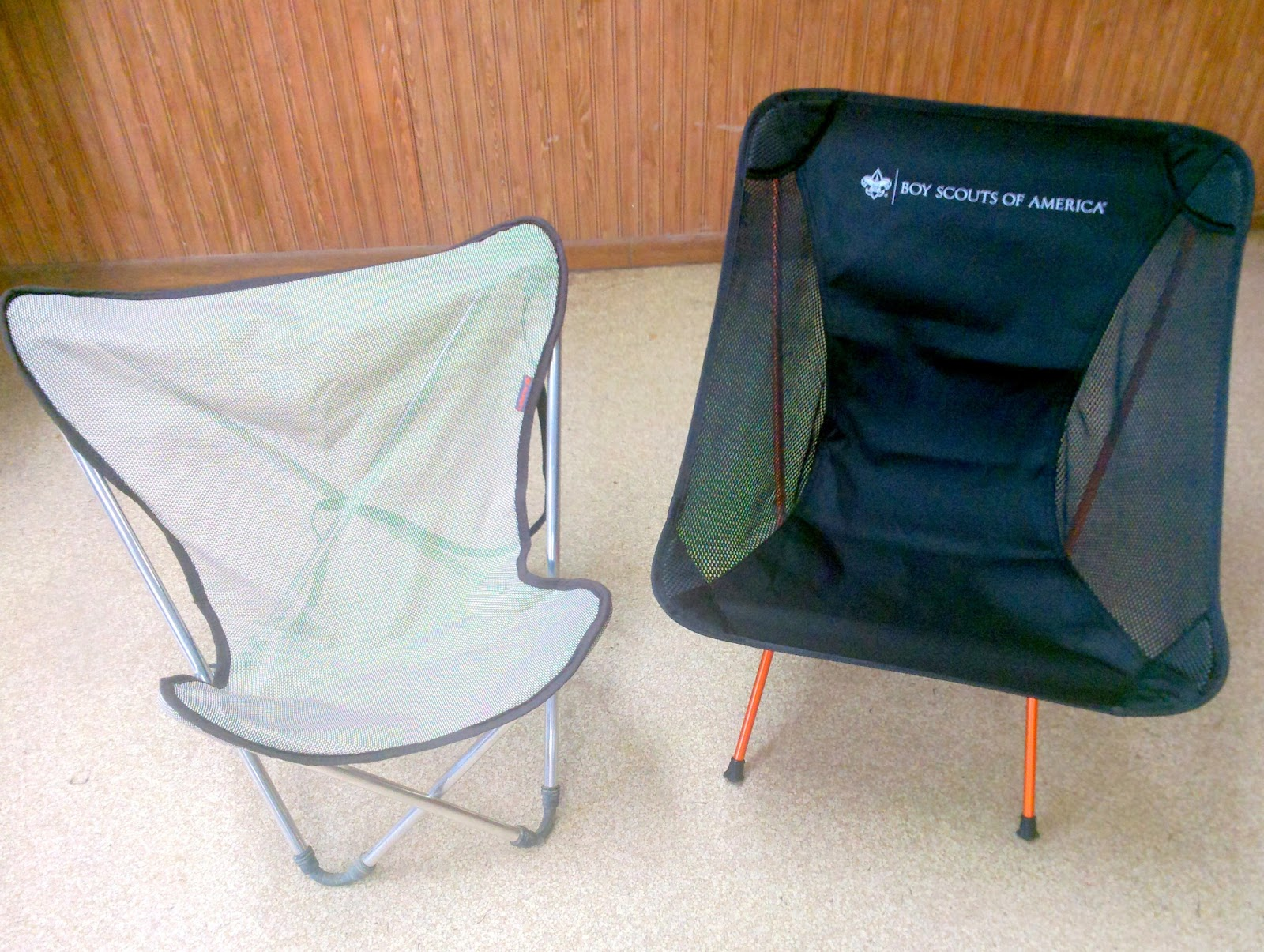 Scouting Together Ultralight Camp Chair 1 7 Lbs Of Pure