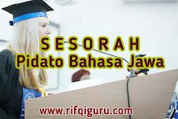 Contoh Pidato Bahasa Jawa Sesorah tentang Perpisahan Sekolah