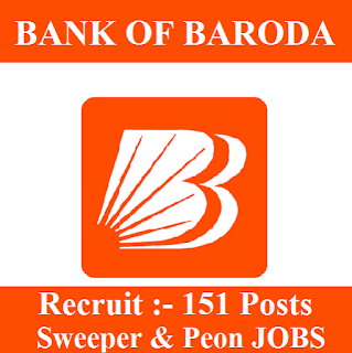 10th, Bank, Bank Of Baroda, BOB, freejobalert, Latest Jobs, Uttar Pradesh, UP, Peon, Sarkari Naukri, Sweeper, bob logo