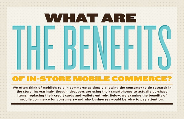 Image: What are the Benefits of In Store Mobile Commerce?