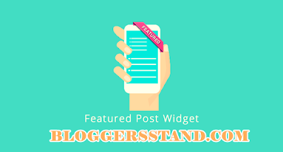 Blogger Official Featured Post Widget