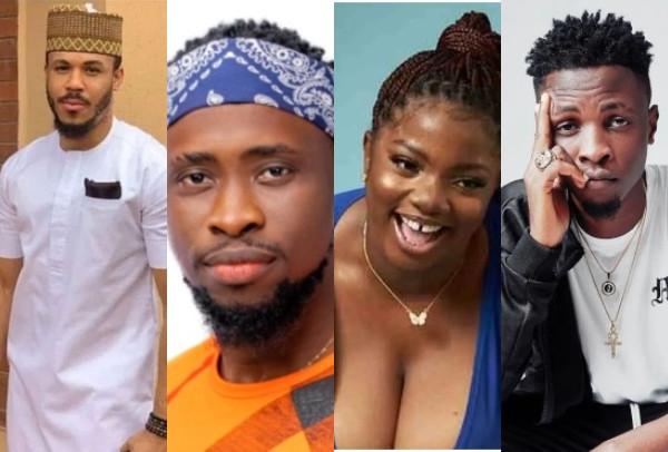 BBNaija: Ozo, Dorathy, Trickytee and Laycon nominated for eviction