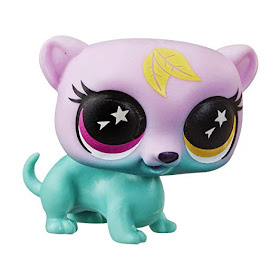 Littlest Pet Shop Lucky Pets Lucky Pets Glow-in-the-Dark Eyes Brownie (#No#) Pet