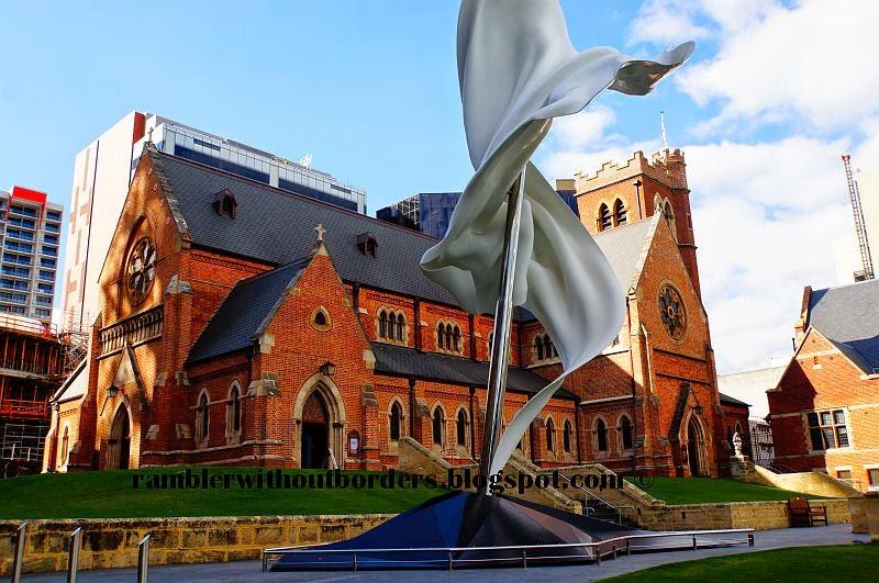 St Georges Cathedral, Perth, WA, Australia