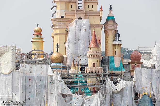 [Hong Kong Disneyland] Castle of Magical Dreams (2020) - Page 10 HKMSG_Hong_Kong_Disneyland_Castle_of_Magical_Dreams_Transformation_Construction_190928_6