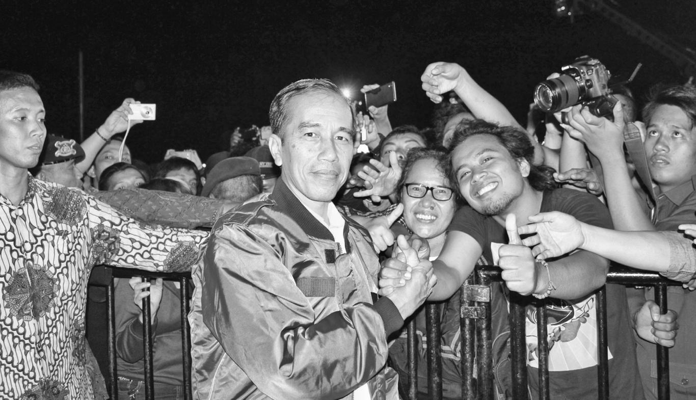 foto eksklusif Presiden dan wartawan Batak Raya, Pangururan, Samosir