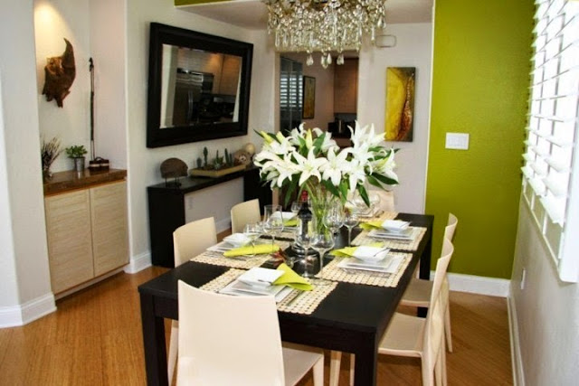 wall colors for small dining rooms