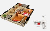 Thiết kế căn 10 11 tòa A chung cư Gemek Tower