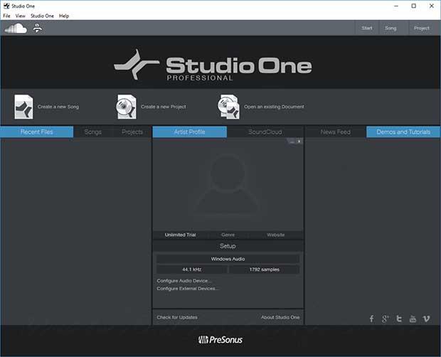 تحميل برنامج Studio One Pro 4.6.2.58729 هو محطة الصوت الرقمية