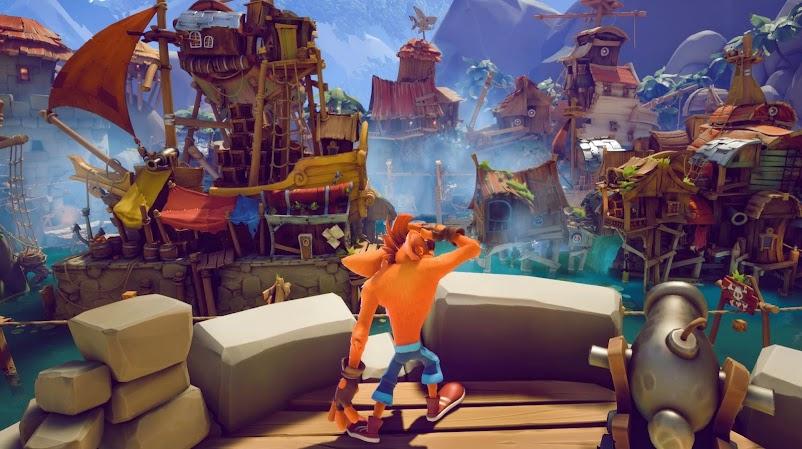 Crash Bandicoot 4 gameplay snapshot