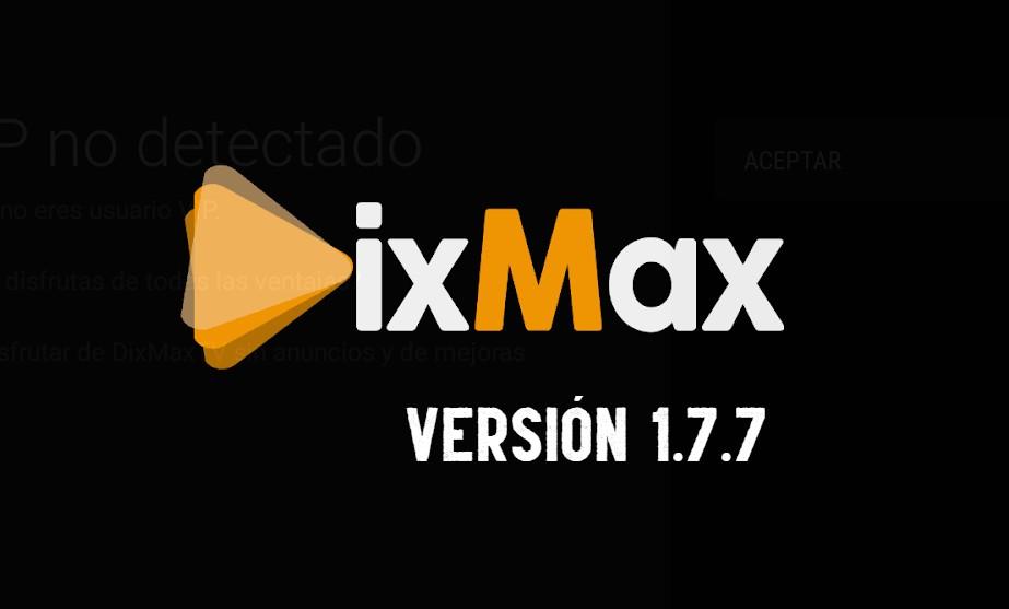 Descarga ultima versión DIXMAX