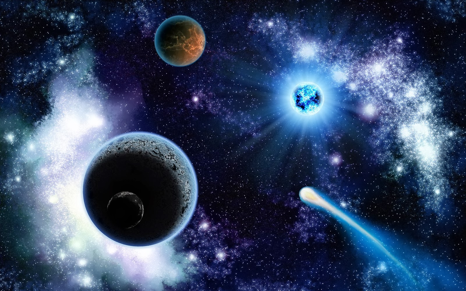 Space Wallpapers High Resolution: Space Stars Wallpaper