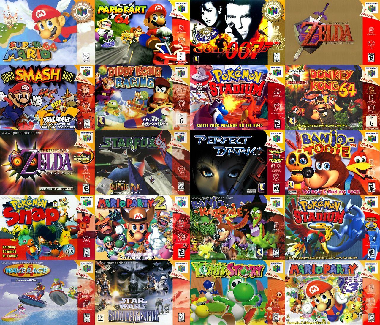 Nintendo 64 e seus 10 jogos mais marcantes - Nintendo Blast