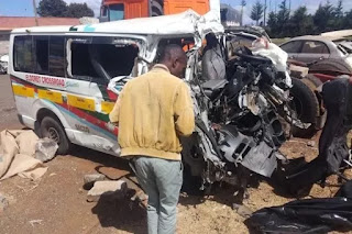 17 lives lost along Thika-Garissa highway accident